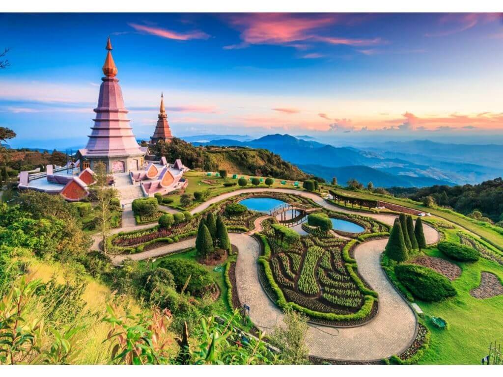 TAILANDIA-CHIANG-MAI-VISTA-AEREA