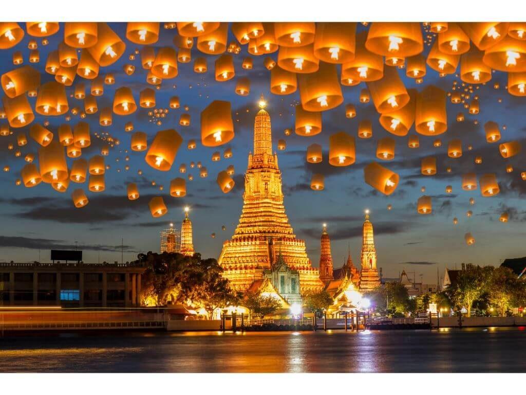 WAT-ARUN-TEMPLO-DEL-AMANECER-EN-BANGKOK-FESTIVAL-YEE-PENG-TAILANDIA